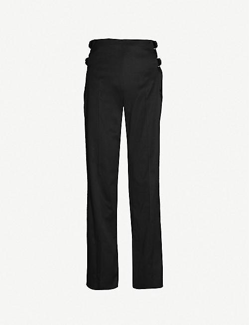fbe2b1109923b8 HELMUT LANG - Trousers - Clothing - Womens - Selfridges | Shop Online