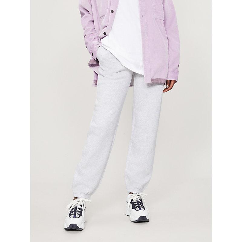 STUSSY | Arch Logo-Print Cotton-Blend Jogging Bottoms | Goxip