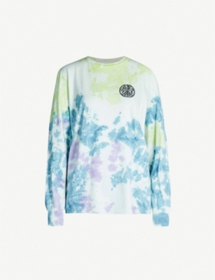 STUSSY Plant Love cotton-jersey top