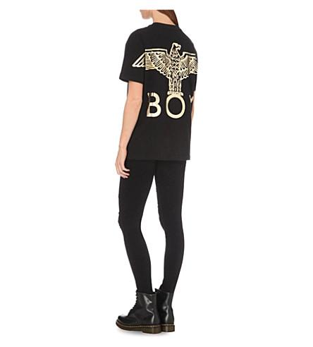 BOY LONDON Cottons Eagle-print cotton-jersey T-shirt