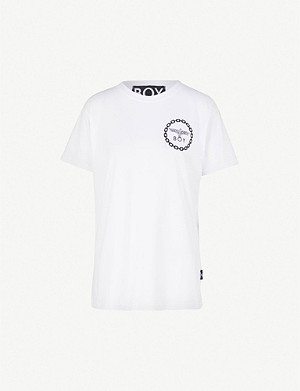 BOY LONDON Logo-print cotton-jersey T-shirt