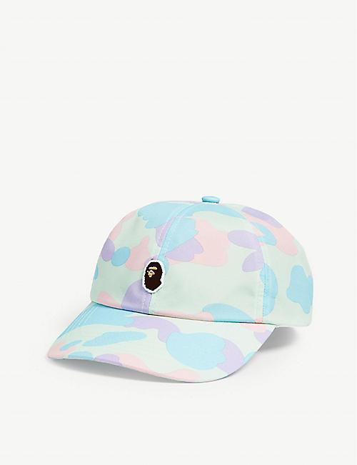 5d793a5b710 BAPE Camouflage shell baseball cap