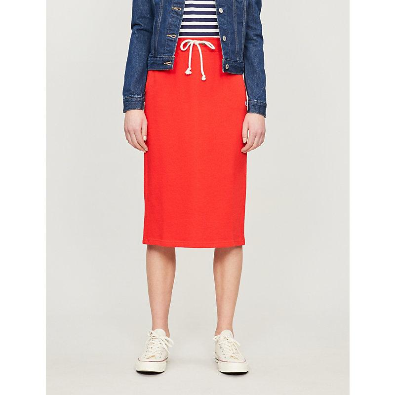 Champion Skirts DRAWSTRING-WAIST COTTON-BLEND JERSEY SKIRT