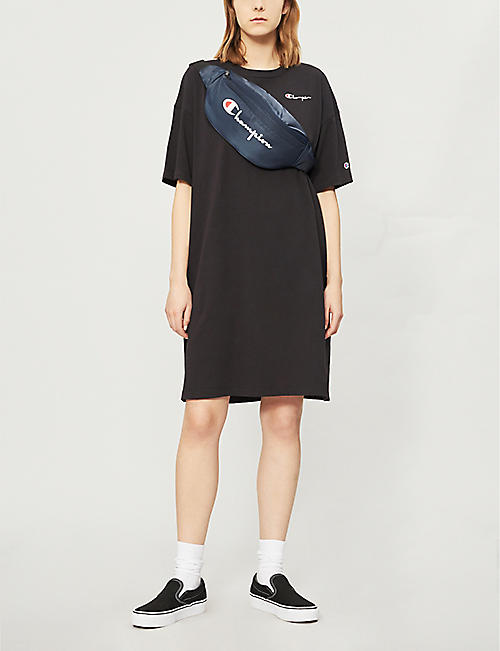 CHAMPION Branded cotton-jersey T-shirt dress