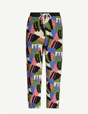 CHAMPION Abstract fleece jogging bottoms