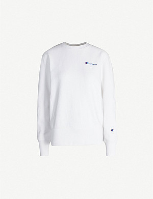 CHAMPION Crewneck cotton sweatshirt