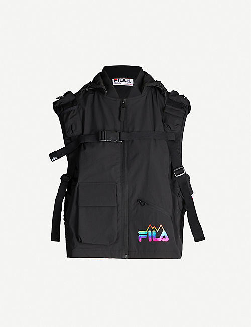 FILA Tactical hooded shell vest