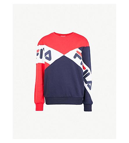 d4c03be33444 FILA - Lidia cotton-blend sweatshirt   Selfridges.com