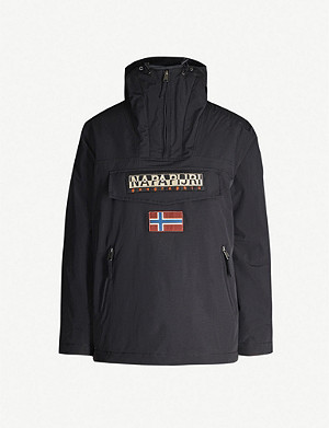 NAPAPIJRI Rainforest funnel-neck hooded shell jacket