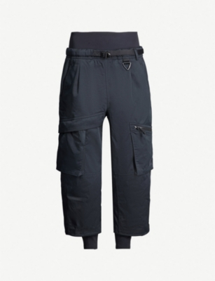 NIKE Nike ACG relaxed-fit cotton-blend cargo trousers