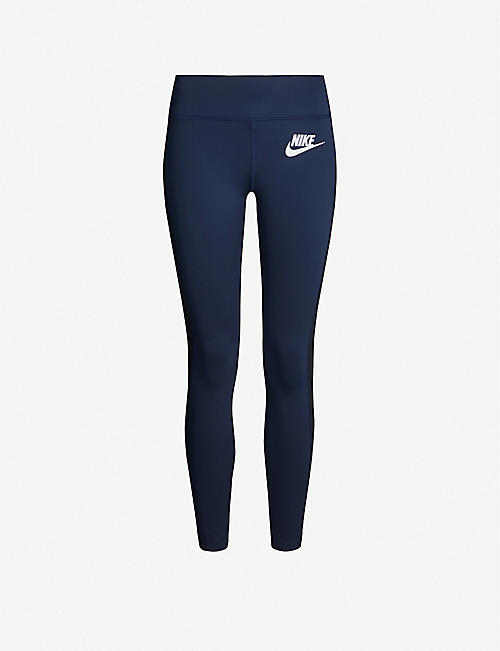 NIKE X SACAI Nike x Sacai branded stretch-woven leggings