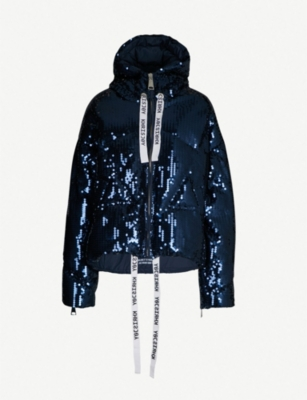 KHRISJOY Sequinned down jacket