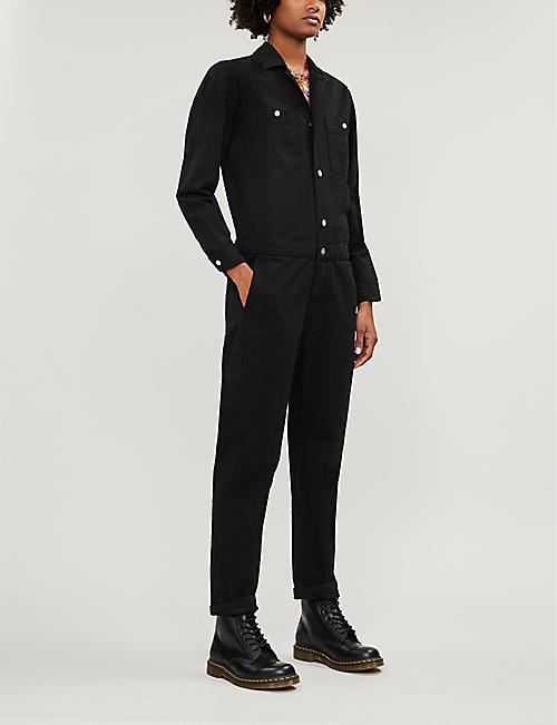 CARHARTT WIP Button-up denim jumpsuit