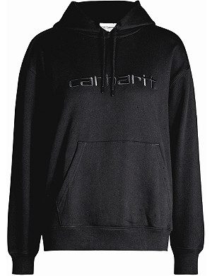 CARHARTT WIP Logo-embroidery cotton-jersey hoody