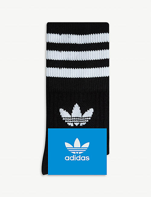 ADIDAS ORIGINALS Logo crew socks pack of three
