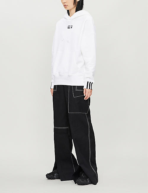 ADIDAS ORIGINALS Vocal long-sleeved cotton-jersey hoody