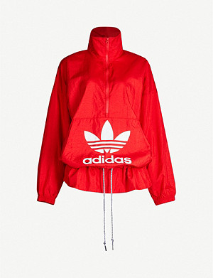 ADIDAS ORIGINALS Logo-print shell jacket