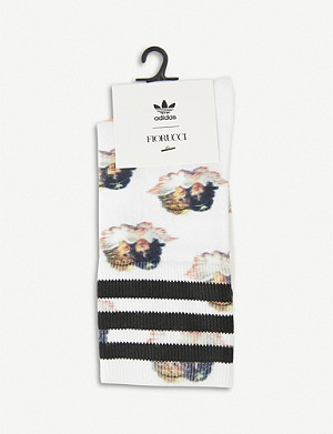 ADIDAS ORIGINALS adidas x Fiorucci graphic-print cotton-blend socks