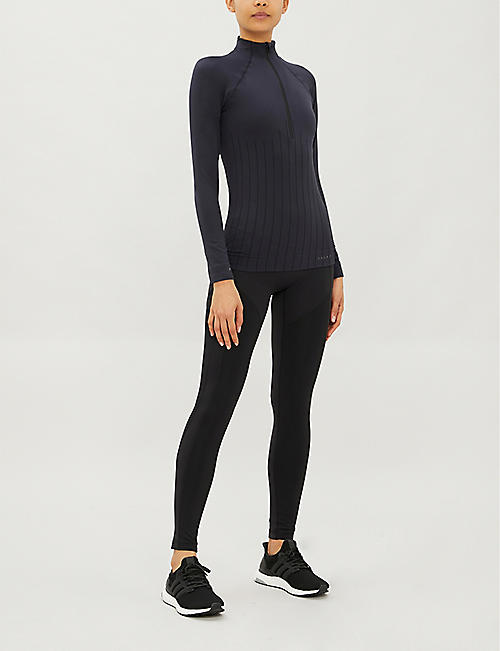 FALKE ERGONOMIC SPORT SYSTEM High-neck stretch-woven top
