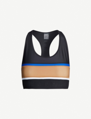 P.E NATION Altitude stretch-jersey crop top