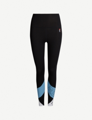 P.E NATION Race Runner stretch-jersey leggings