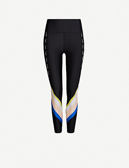 P.E NATION Sprint Vision stretch-jersey leggings