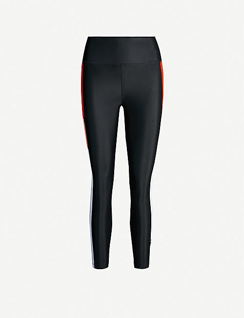 P.E NATION First Limit contrast-panel stretch-jersey leggings