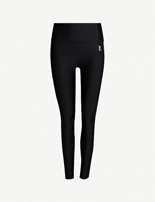 P.E NATION Star Force stretch-jersey leggings