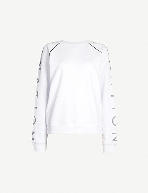 P.E NATION Highline cotton-jersey sweatshirt