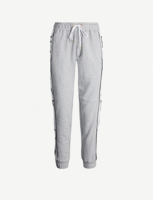 P.E NATION Easy Run cotton-jersey jogging bottoms