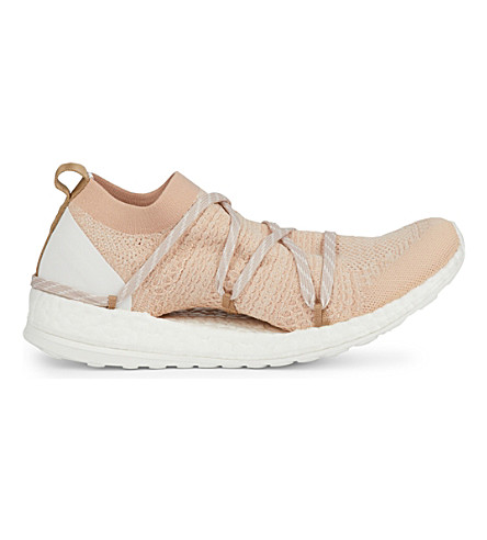 e4b52787360 ... ADIDAS BY STELLA MCCARTNEY Pure Boost X trainers (Copper white coral.  PreviousNext