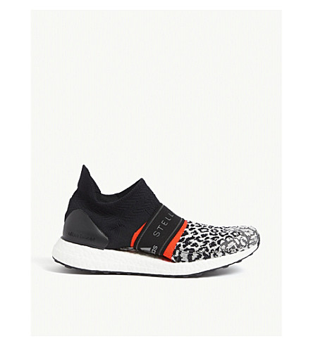 2b1c593a23ee9 ADIDAS BY STELLA MCCARTNEY Ultraboost X 3D trainers (Black+white+solar+red