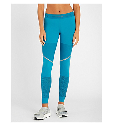 Run Jersey Leggings, Hero Blue F13