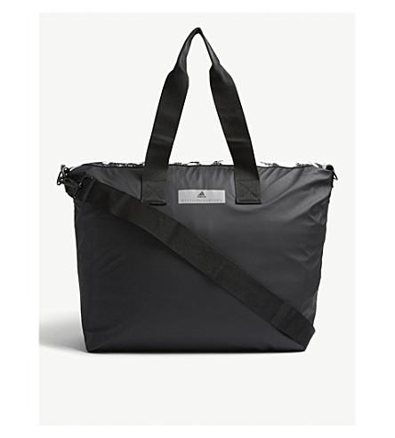 56fc0d7bccff ADIDAS BY STELLA MCCARTNEY Small studio bag (Black+white