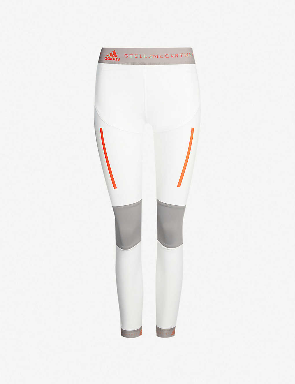 fdc240e08d Run high-rise mesh-panelled stretch-jersey leggings - Core white ...