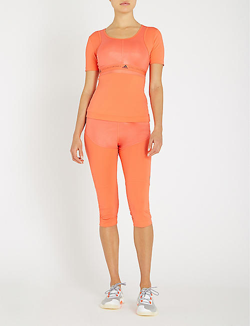 ADIDAS BY STELLA MCCARTNEY Run 3/4 stretch-jersey leggings