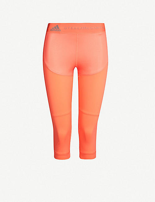 finest selection a064d ed6c5 ADIDAS BY STELLA MCCARTNEY Run 3 4 stretch-jersey leggings