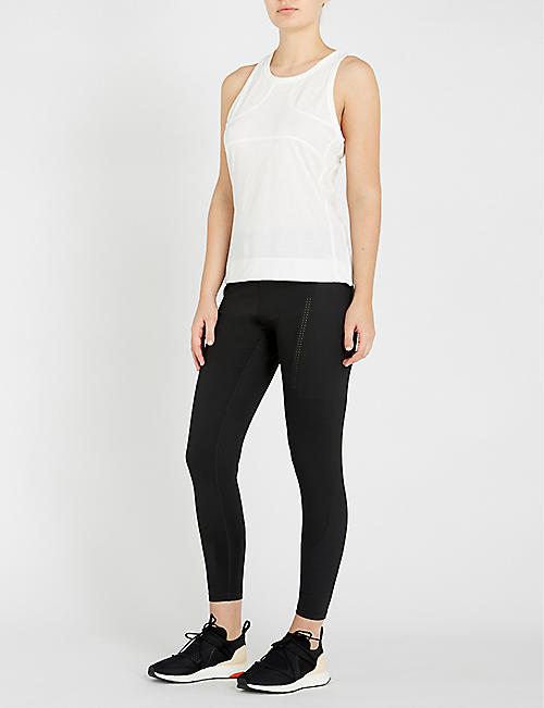 ADIDAS BY STELLA MCCARTNEY Racer-back stretch-jersey top