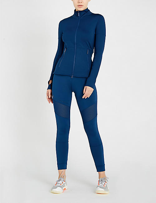 ADIDAS BY STELLA MCCARTNEY Performance Essential Midlayer jersey jacket