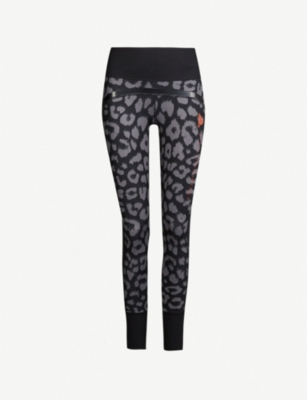 ADIDAS BY STELLA MCCARTNEY Belive This Comfort leopard-print stretch-jersey leggings