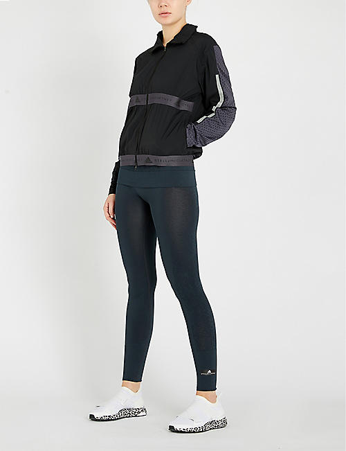 ADIDAS BY STELLA MCCARTNEY Run mesh-panelled shell jacket