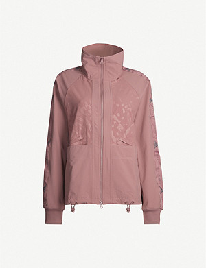 ADIDAS BY STELLA MCCARTNEY Camouflage-print recycled shell jacket