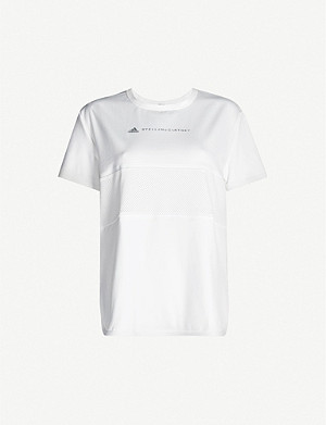 ADIDAS BY STELLA MCCARTNEY Run loose-fit recycled jersey T-shirt