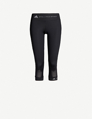 ADIDAS BY STELLA MCCARTNEY Performance Essentials cropped stretch-jersey leggings