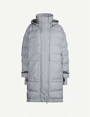 ADIDAS BY STELLA MCCARTNEY Padded hooded shell jacket