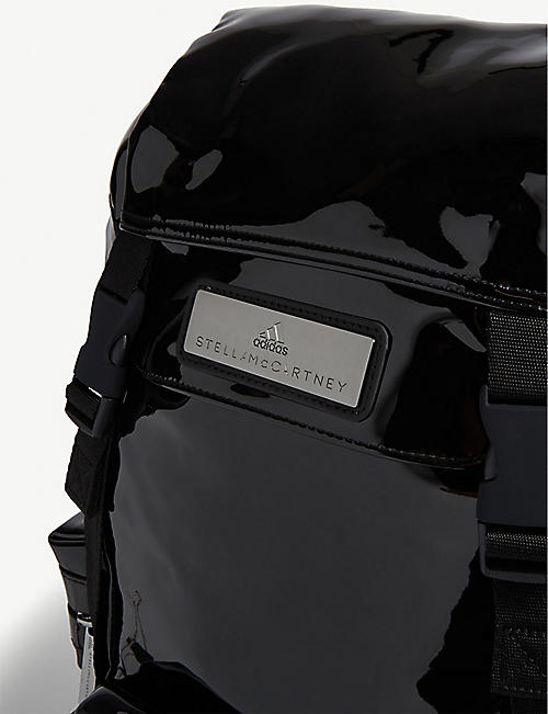 ADIDAS BY STELLA MCCARTNEY Logo plaque nylon backpack