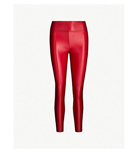 bb338b725f790 KORAL - Lustrous high-shine stretch-jersey leggings   Selfridges.com