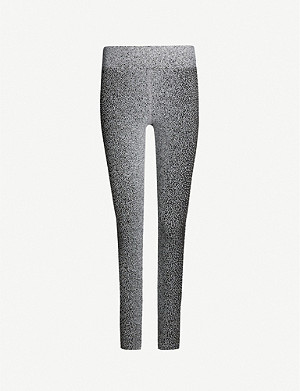 KORAL Drive high-rise printed stretch leggings