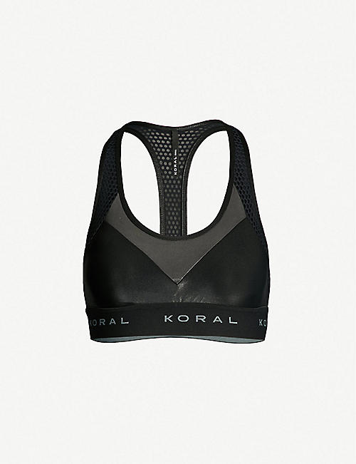 5380c7ae24 KORAL Infinity stretch-jersey sports bra. Quick view Wish list