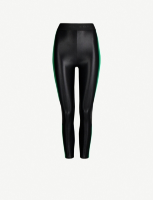 KORAL Infinity mesh-panel stretch-jersey leggings